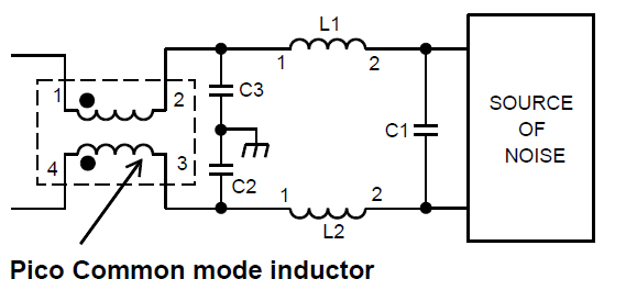 high current common mode emi suppression inductors