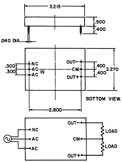 series sw-single and dual output
